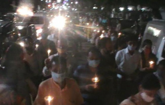 10323 teachers paid tribute to their dead colleagues, blamed Ratanlal Nath for their deaths