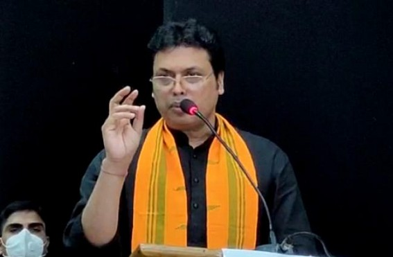 'BJP Govt gave 18,500 Jobs in 2.5 years', Claims Biplab Deb