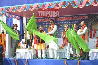 Kokborok Diwas celebrated in Tripura. TIWN Pic Jan 19