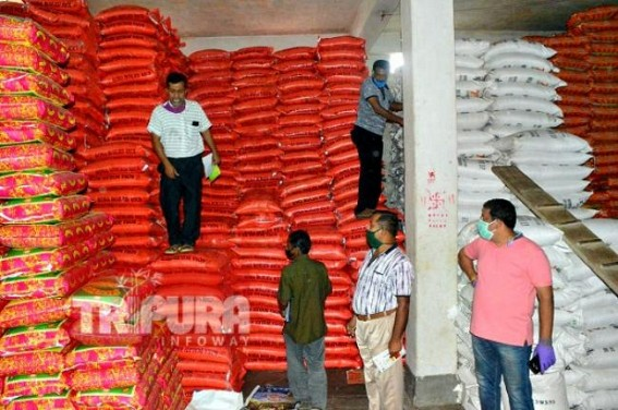 Shop sealed for illegal stocks, poor quality of commodities