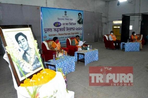 Poet Sukanta Bhattacharjee remembered on 94th birth anniversary