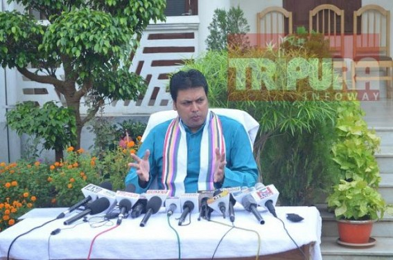'Could anyone imagine, India will be digitalized before the Modi Govt ?', asked Tripura CM