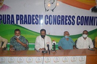 Congress geared up for Strike Day on Monday in Tripura : Warned BJP, BMS to refrain from unnecessary Creating Problems and Violence