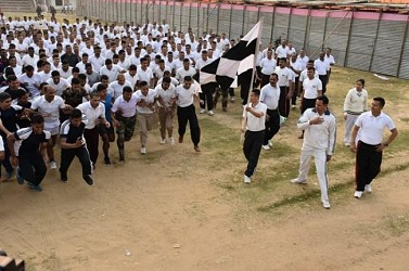 Assam Rifles organized 'Run for Unity'. TIWN Pic Feb 24