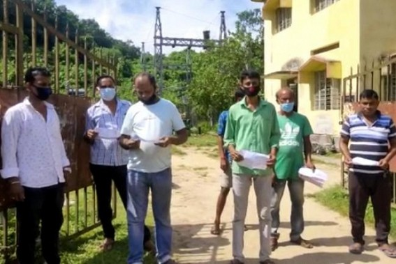 Madhupur locals protested against abnormal Electric Bills