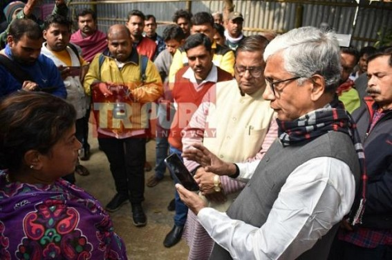 'How can neutral investigation proceed when the Murder-Accused police officials are sitting in the same police station ?', asks Manik Sarkar in Sushanta Das's custodial murder case at West Agartala PS