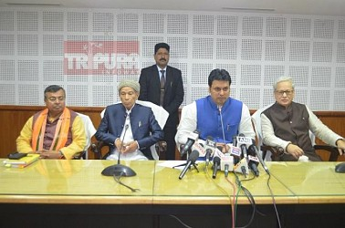 CM held press meet. TIWN Pic Jan 17