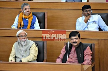 Tripura Assembly Day-1. TIWN Pic Jan 17