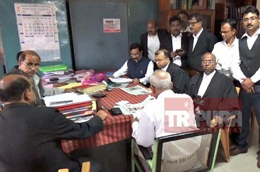 BJP submits nomination for High Court Bar Association Election. TIWN Pic Feb 24