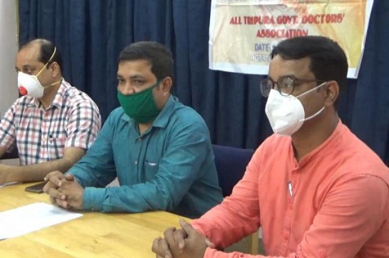 400 Doctors Unemployed in Tripura : Doctors Association demanded immediate Recruitment of 300 Doctors at least in Ad-Hoc basis as Health Service at Severe Crisis