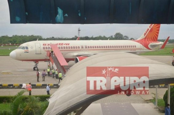 Agartala MBB Airport is now functional, but with selective Stranded Passengers, Air India's 2 charter flights landed with Stranded ONGC Passengers : No information about when Normal Passengers Services will be resumed at MBB Airport