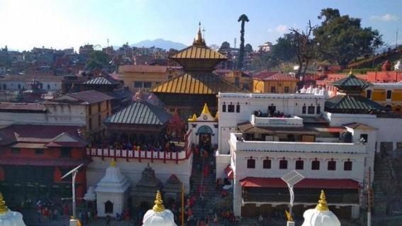 25 Indian priests in Kathmandu for 'Kshama Puja'