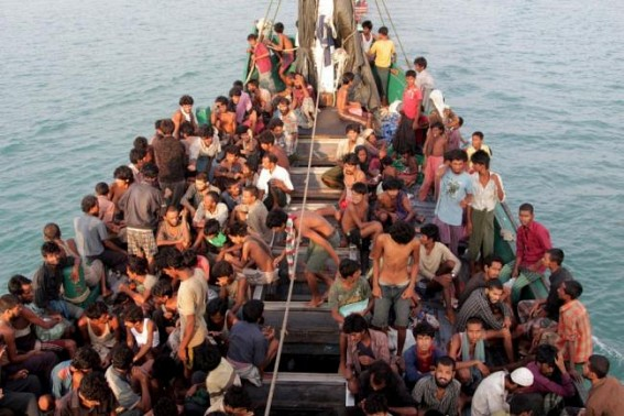 Rohingya vessel in Indian waters, UNHCR calls for 'immediate' rescue