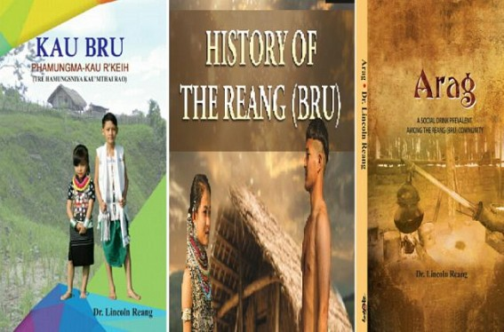 Books Published on History of the Reang (Bru)