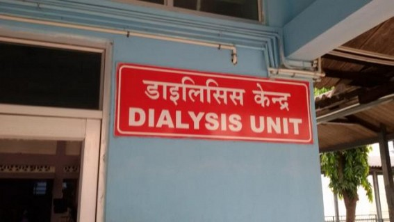 Dialysis Patients of Poor Families are forced to die in Tripura as Health Dept not supplying Free Medicines Properly : Dialysis Centre in GB left in Pathetic Condition