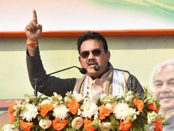 Minister Pranajit Singha Roy named Bangladesh PM as 'Hasina Begum'