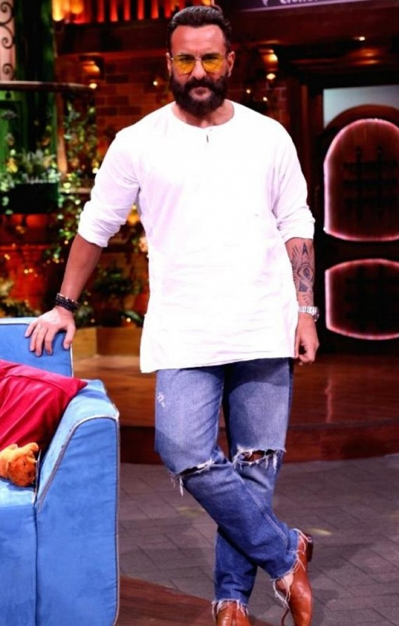 Saif reveals to Kapil Sharma why he can't sing lullabies to his kids