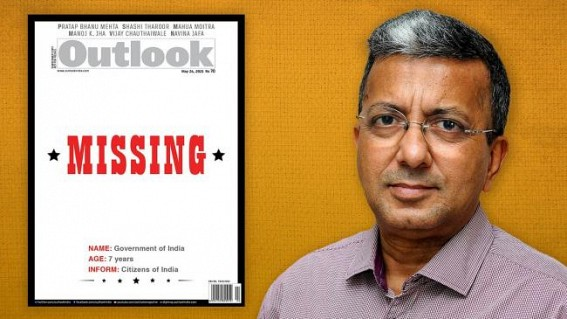 Outlook terminates services of Group Editor-in-Chief Ruben Banerjee
