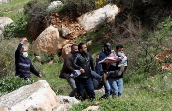 217 Palestinian protesters injured in W.Bank clashes