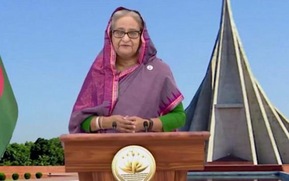 Bangladesh Prime Minister Credits former CM Manik Sarkar for Feni River Bridge
