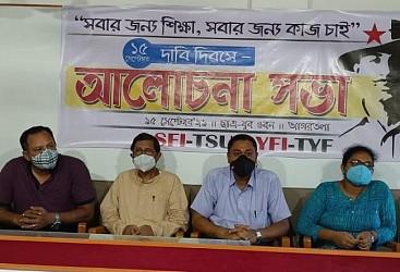 Left organizations observed Dabi Diwas. TIWN Pic Sep 15