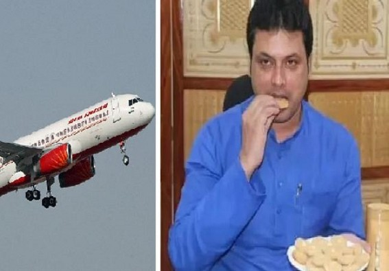 Tripura CM Biplab Deb used Govt Fund for his Dog's Flight Fare, son's Motorbike Transport Cost : Congress raised Finger at Illegal Wastage of Public Taxes