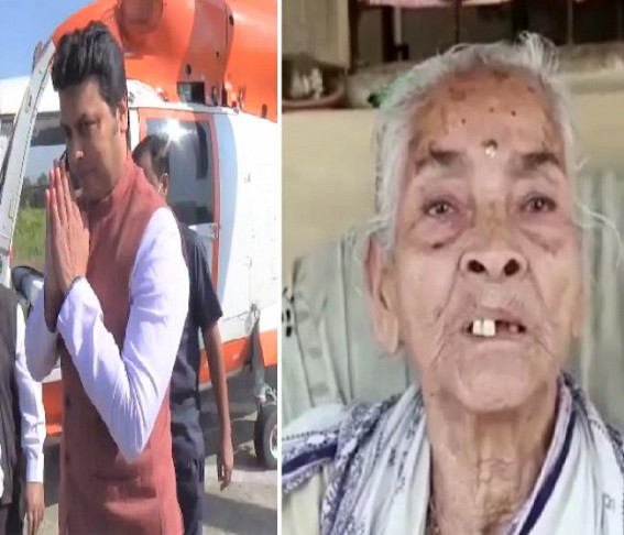 Massive Expulsion of Social Pensioners from Beneficiary-Lists in Tripura : Biplab Deb forcing Old People to Die in Starvation !