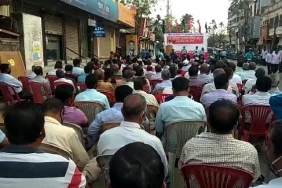 Kisan Sabha's rally in Agartala on 100 days completion of Farmers' protest at Delhi