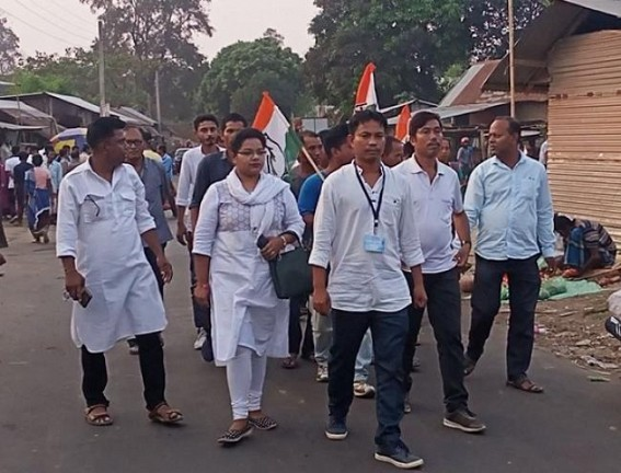 ADC Election : Congress Campaigns in Amarpur