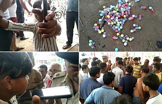 Tripura's Young Generation Gripped by Drugs Addiction : Bishalgarh Locals caught Two Young Drug Consumers