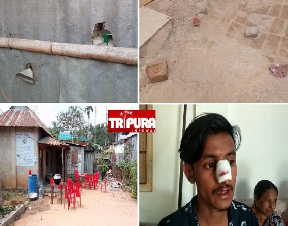 BJP's Whole Night Alcohol Party in an Anganwadi Centre at Hapania : Attacks on Women, House to House Violence, Robberies : No Action taken by Police Yet !