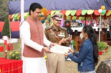 Police week Parade at AD Nagar ground. TIWN Pic Jan 15
