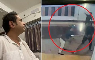 Ratanlal Nath's Constituency goons Attacked on Pradyot Manikya in Mohanpur SDM office allegedly in Presence of BJP Candidate, situation tensed : Stone Pelting by Miscreants, No Arrest by Police Yet