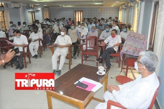 CPI-M to Announce ADC Poll Candidates' Names : Final Meeting started at Melarmath Party Office