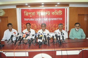 Left Front announced candidates' names for ADC Poll. TIWN Pic March 6