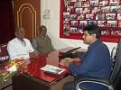 Tripura January 2015 , TIWN MD with dignitaries